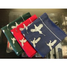 Pheasant Print Hankerchiefs 100% Cotton
